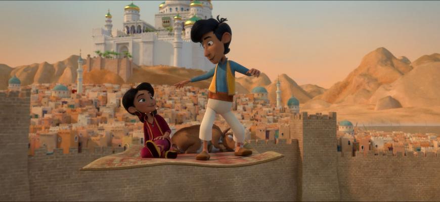 Amir et Mina : Les aventures du tapis volant Animation