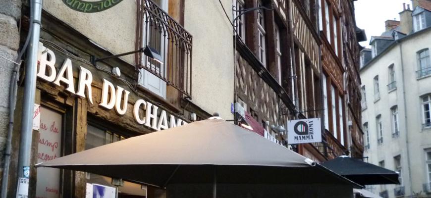 Bar du Champ Jacquet Bistrot de quartier