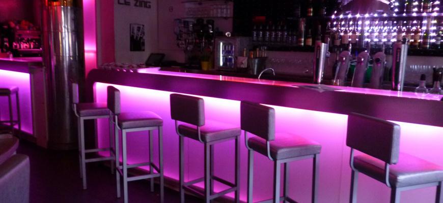 Le Zing Bar de nuit