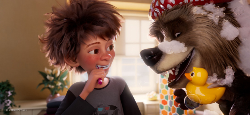 Bigfoot Family Animation