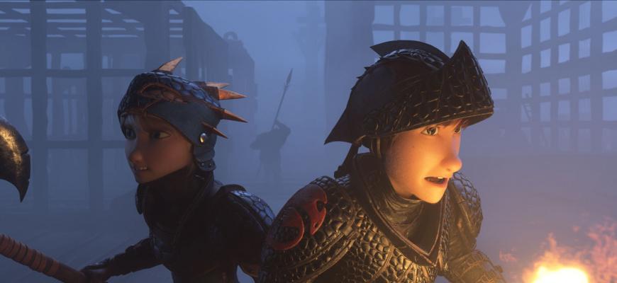 Dragons 3 : Le monde caché Animation