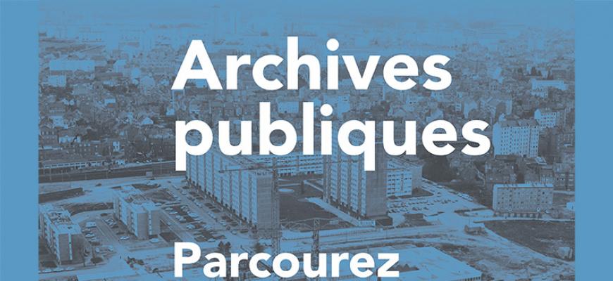Archives publiques Photographie