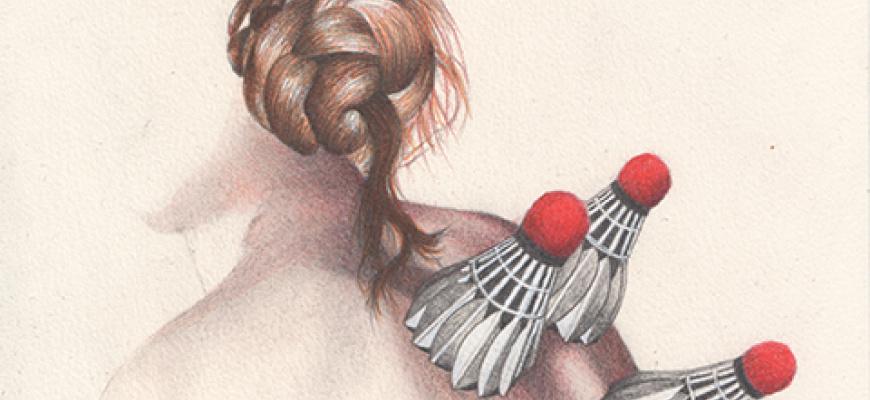 Les corps graves, dessins de Claire Morel Art graphique