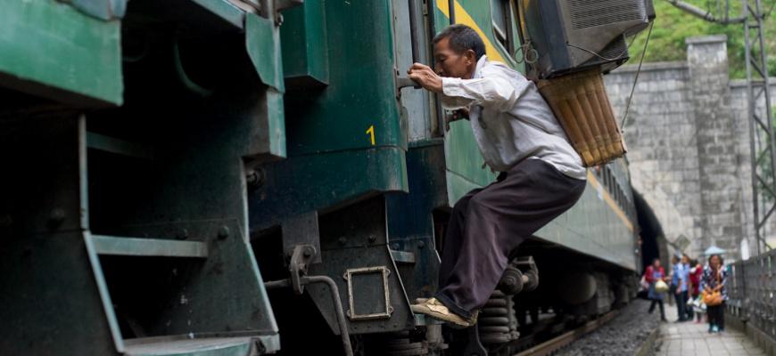 The green train - Qian Haifeng Photographie