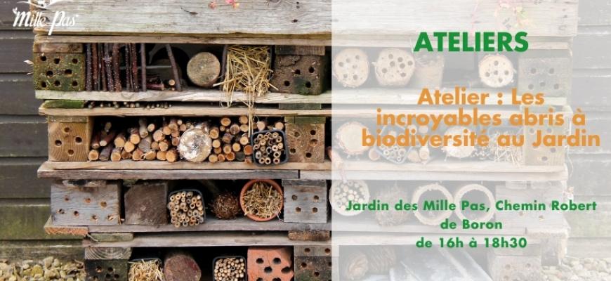 Atelier : Les incroyables abris à biodiversité au jardin Atelier/Stage