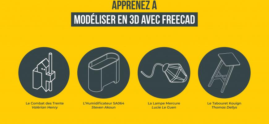 Lancement du MOOC, Modéliser en 3D avec FreeCAD Conférence/Débat