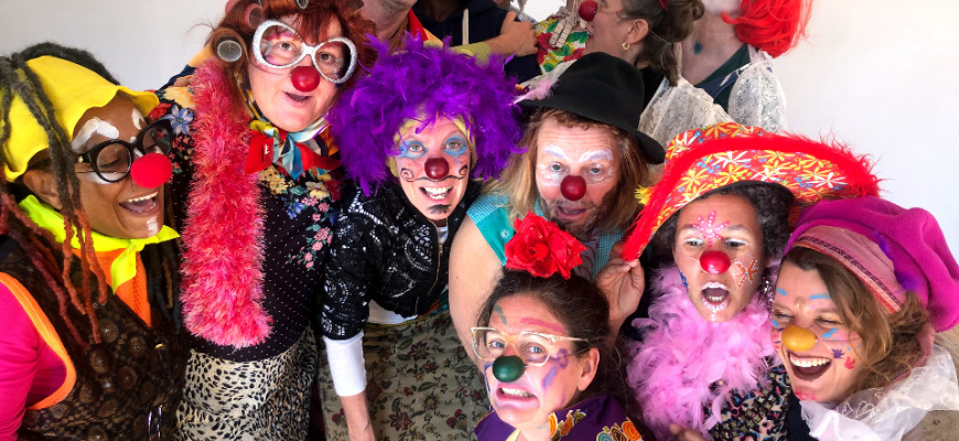 Stage clown en famille Atelier/Stage