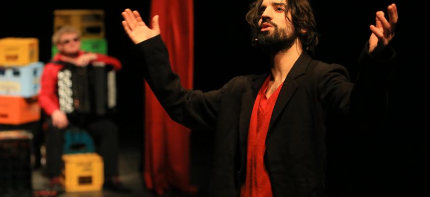 Ascanio Celestini & David Murgia - Laïka Théâtre