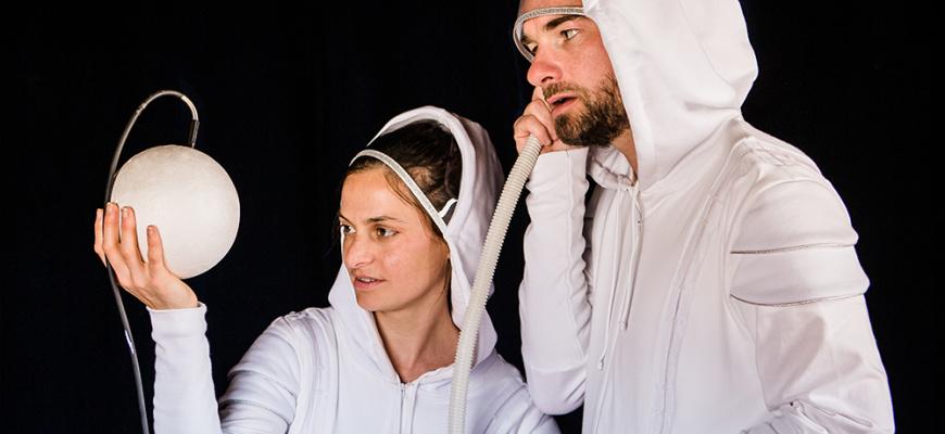 Allô Cosmos - Fanny Paris et Marc de Blanchard Danse