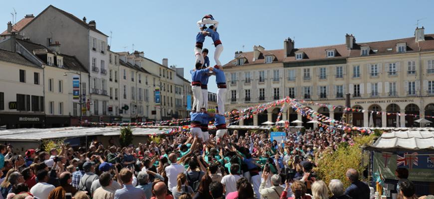Castellers de Paris - AY-ROOP [Temps Fort arts du Cirque] Cirque