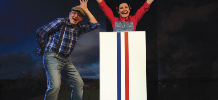 Pépette & Papy à l'Elysée Théâtre