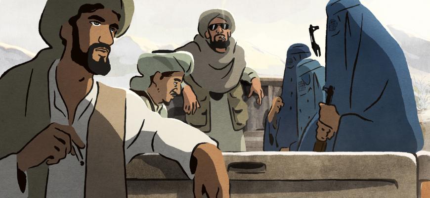 Les Hirondelles de Kaboul Animation