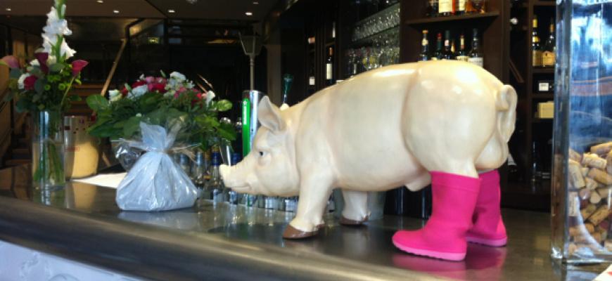 Léon le cochon Brasserie