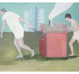 Image La mélancolie des espaces, Marie Vandooren Art contemporain