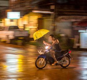 Image Monsoon - l'eau sacrée Photographie