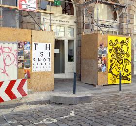 Image Processus placards documents Art contemporain