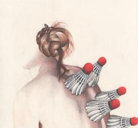Image Les corps graves, dessins de Claire Morel Art graphique