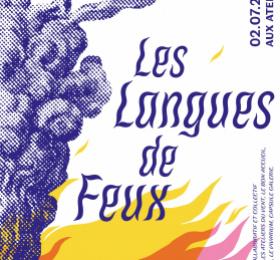 Image Les Langues de feux Art contemporain