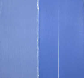 Image Geneviève Asse - Bleu Art contemporain