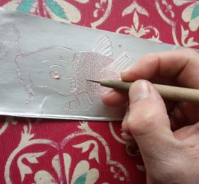 Atelier gravure sur tetrapack - Enfants et adultes