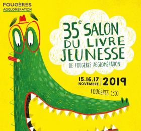 Salon du livre jeunesse de Fougères agglomération