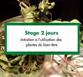 Image Stage 2 jours : Initiation à l'utilisation des plantes du bien-être Atelier/Stage