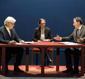 Image 1988, le débat Mitterand - Chirac Théâtre