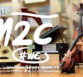 M2C #WE -  Sonate de Ravel et création contemporaine