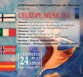 Orchestre Métropolitain de Rennes - L'Europe Musicale