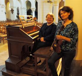 Image Concert violon & orgue