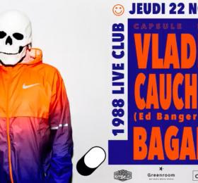 Capsule invite Vladimir Cauchemar & Bagarre