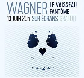 Image Opéra sur écran - Le Vaisseau Fantôme de Richard Wagner Opéra