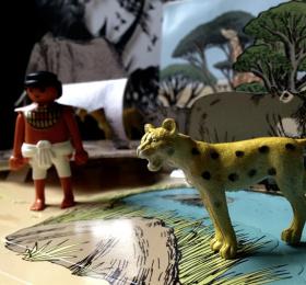 Le leopard et le chasseur - OSB