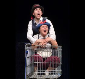 Image Mimo et Tuf, la chasse au Père Noël Théâtre