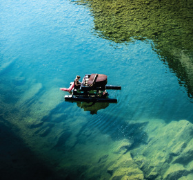 Le piano du Lac / Sabir