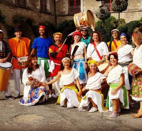 Déambulation musicale - Les Tambours du Maracatu