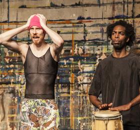 Image Performance Rue de Volmir Cordeiro.  Danse