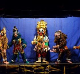 Image Yakshagana Gombeyata Marionnettes/Objets