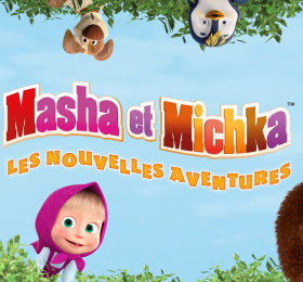 Les nouvelles aventures de Masha et Michka