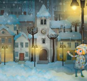 Mimi & Lisa : les lumières de Noël
